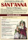 FESTA DELLA PATRONA S.ANNA – 2015 – PROGRAMMA RELIGIOSO