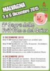 2^ Sagra delle Frittole e del Suino – 5 e 6 Dicembre 2015 – Programma