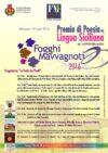 Fogghi Mavvagnoti 2016 – Premio di poesia in lingua siciliana